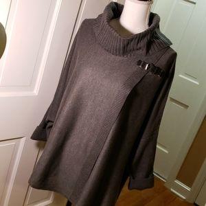 Calvin Klein grey sweater nwt size l-xl